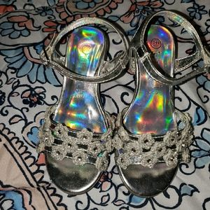 Girl's pagent shoes